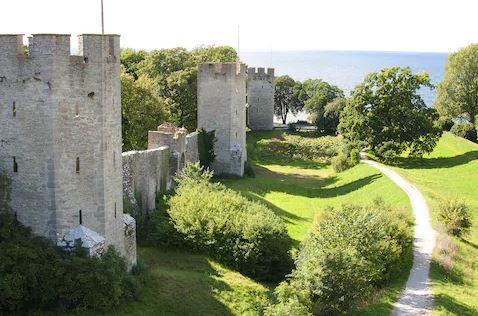 Gotland, Sweden castle