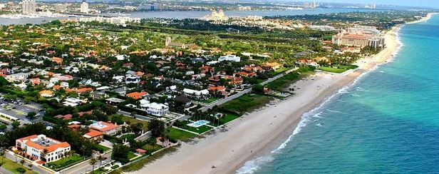 Palm Beach and Miami Beach