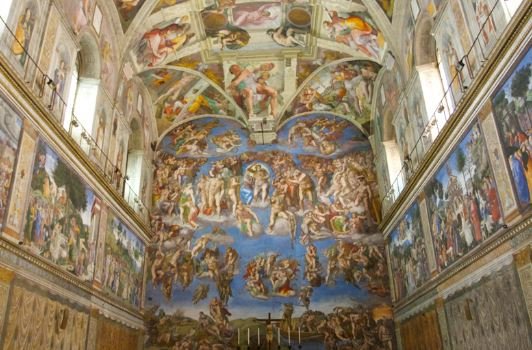 A Journey to the Sistine Chapel in the Heart of Vatican City